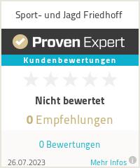 Erfahrungen & Bewertungen zu Sport- und Jagd Friedhoff