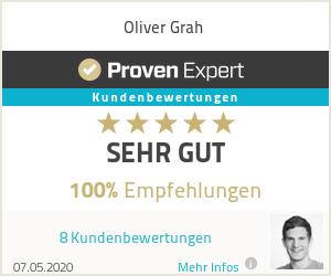 Erfahrungen & Bewertungen zu Oliver Grah