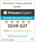 Erfahrungen & Bewertungen zu Vartmann International GmbH