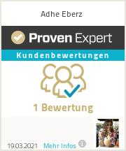 Erfahrungen & Bewertungen zu Adhe Eberz