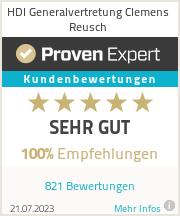 Erfahrungen & Bewertungen zu HDI Generalvertretung Clemens Reusch