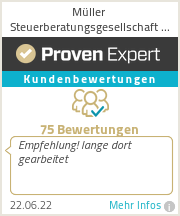 Erfahrungen & Bewertungen zu Müller Steuerberatungsgesellschaft mbH