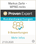 Erfahrungen & Bewertungen zu Markus Zarte - WPMZ.rocks