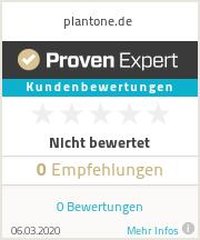 Erfahrungen & Bewertungen zu plantone.de