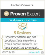 Ratings & reviews for FontanaShowers