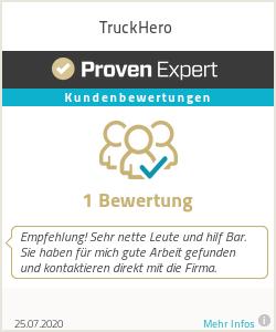 Erfahrungen & Bewertungen zu TruckHero