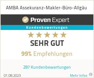 Erfahrungen & Bewertungen zu AMBA Assekuranz-Makler-Büro-Allgäu