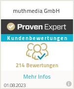 Erfahrungen & Bewertungen zu muthmedia GmbH