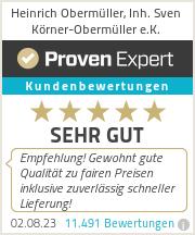 Erfahrungen & Bewertungen zu Heinrich Obermüller, Inh. Sven Körner-Obermüller e.K.