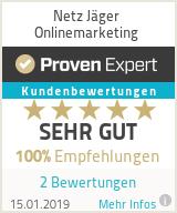 Erfahrungen & Bewertungen zu Netz Jäger Onlinemarketing