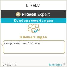 Erfahrungen & Bewertungen zu DJ KRIZZ