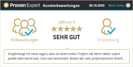 Kundenbewertungen & Erfahrungen zu Haller & Noll GmbH. Mehr Infos anzeigen.