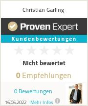 Erfahrungen & Bewertungen zu Christian Garling