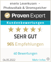 Erfahrungen & Bewertungen zu enerix Leverkusen