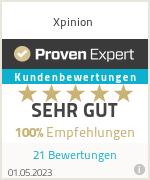 Erfahrungen & Bewertungen zu Xpinion