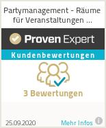 Erfahrungen & Bewertungen zu Partymanagement - Räume für Veranstaltungen jeglicher Art im Raum Braunschweig und Hannover