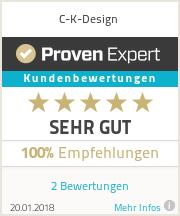 Erfahrungen & Bewertungen zu C-K-Design