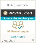 Erfahrungen & Bewertungen zu Dr. A. Kuroszczyk