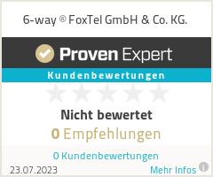 Erfahrungen & Bewertungen zu 6-way ® FoxTel GmbH & Co. KG.