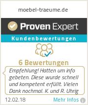 Erfahrungen & Bewertungen zu moebel-traeume.de