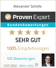 Erfahrungen & Bewertungen zu Alexander Schelle