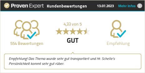 Kundenbewertungen & Erfahrungen zu Alexander Schelle. Mehr Infos anzeigen.