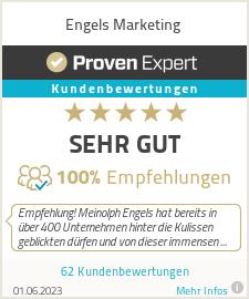Erfahrungen & Bewertungen zu Engels Marketing