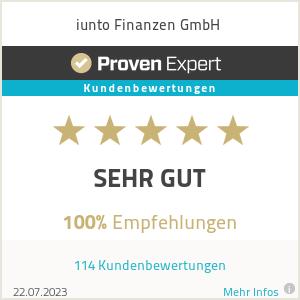 Erfahrungen & Bewertungen zu iunto Finanzen GmbH
