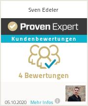 Erfahrungen & Bewertungen zu Sven Edeler