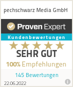 Erfahrungen & Bewertungen zu pechschwarz Media GmbH