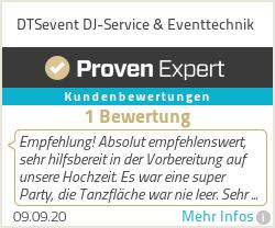 Erfahrungen & Bewertungen zu DTSaudio | DJ Service & Eventtechnik