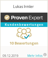 Erfahrungen & Bewertungen zu Lukas Irmler
