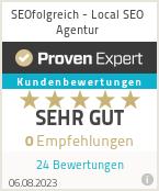 Erfahrungen & Bewertungen zu SEOfolgreich - Local SEO Agentur