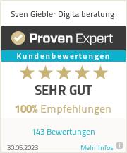 Erfahrungen & Bewertungen zu Sven Giebler Digitalberatung