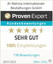 Erfahrungen & Bewertungen zu Islamisches Bestattungsinstitut in NRW GmbH