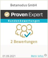 Erfahrungen & Bewertungen zu Betamodus GmbH