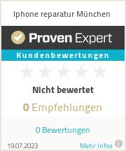Erfahrungen & Bewertungen zu Iphone reparatur München