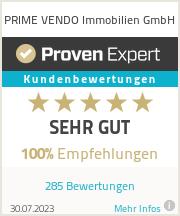 Erfahrungen & Bewertungen zu PRIME VENDO Immobilien