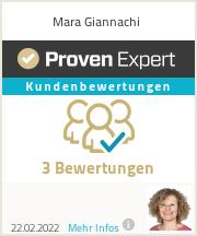 Erfahrungen & Bewertungen zu Mara Giannachi