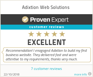 Ratings & reviews for Adixtion Web Solutions