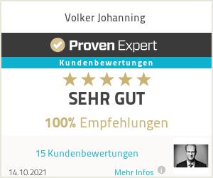 Erfahrungen & Bewertungen zu Volker Johanning