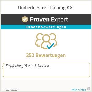 Erfahrungen & Bewertungen zu Umberto Saxer Training AG