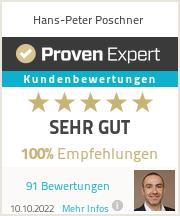 Erfahrungen & Bewertungen zu Hans-Peter Poschner