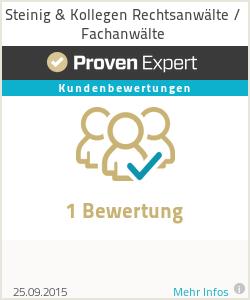 Erfahrungen & Bewertungen zu Steinig & Kollegen Rechtsanwälte / Fachanwälte