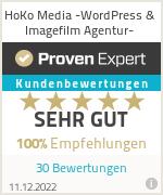 Erfahrungen & Bewertungen zu HoKo Media -WordPress & Imagefilm Agentur-