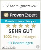 Erfahrungen & Bewertungen zu VPV Andre Ignaszewski