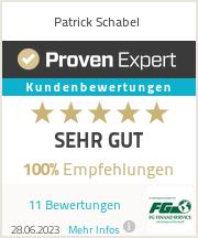 Erfahrungen & Bewertungen zu Patrick Schabel