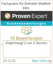 Erfahrungen & Bewertungen zu Fachpraxis für Ästhetik VitaWell Köln