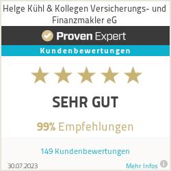 Erfahrungen & Bewertungen zu Helge Kühl Versicherungsmakler e.K.