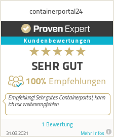 Erfahrungen & Bewertungen zu containerportal24